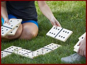 Reuze domino